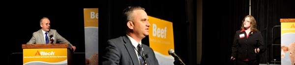 Beef Speakers at Alltech Symposium